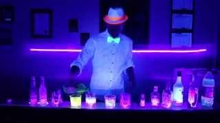 Drinks that glow under black lights