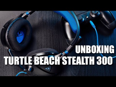 Unboxing Turtle Beach Stealth 300 Headset