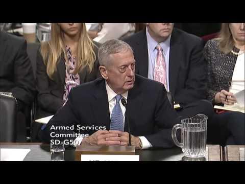 Mad Dog Mattis Explains Why Restoring the 'Warrior Ethos' is 'Essential'
