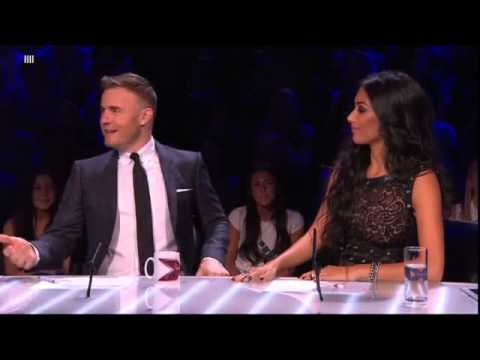 The judges get to see a 15yearold Gary Barlow
