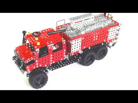 Tronico Metallbaukasten - Fire Engine Item 10432 - 1:16 - Profi Series - DIY Metal Construction Kit