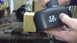 переробляємо шуруповерт 12 в на 220 вольт