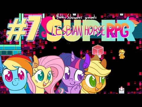 Super Lesbian Horse RPG #7 | We Found Applejack! 【Let's Play】