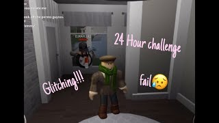 Glitching Into People's Houses And 24 Hour Challenge *FAIL*