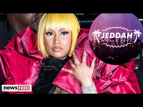 Nicki Minaj PULLS OUT Of Show In Middle East For Moral Reasons! Mp3