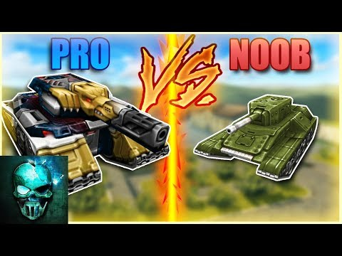 Tanki Online Pro vs Noob #1 (funny) | Ghost Animator TO