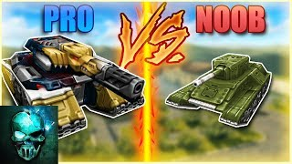 Pro vs Noob (funny video) - Tanki Online - Ghost Animator TO