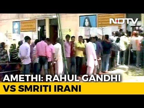 It's Rahul Gandhi vs Smriti Irani In Amethi As Congress Stronghold Goes To Polls