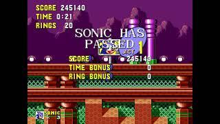 """[TAS] Genesis Sonic the Hedgehog """"no zips"""" by Aglar in 17:36.58"""