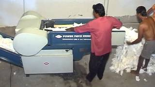Power Mach Engg Fabric Waste Cutting Machine