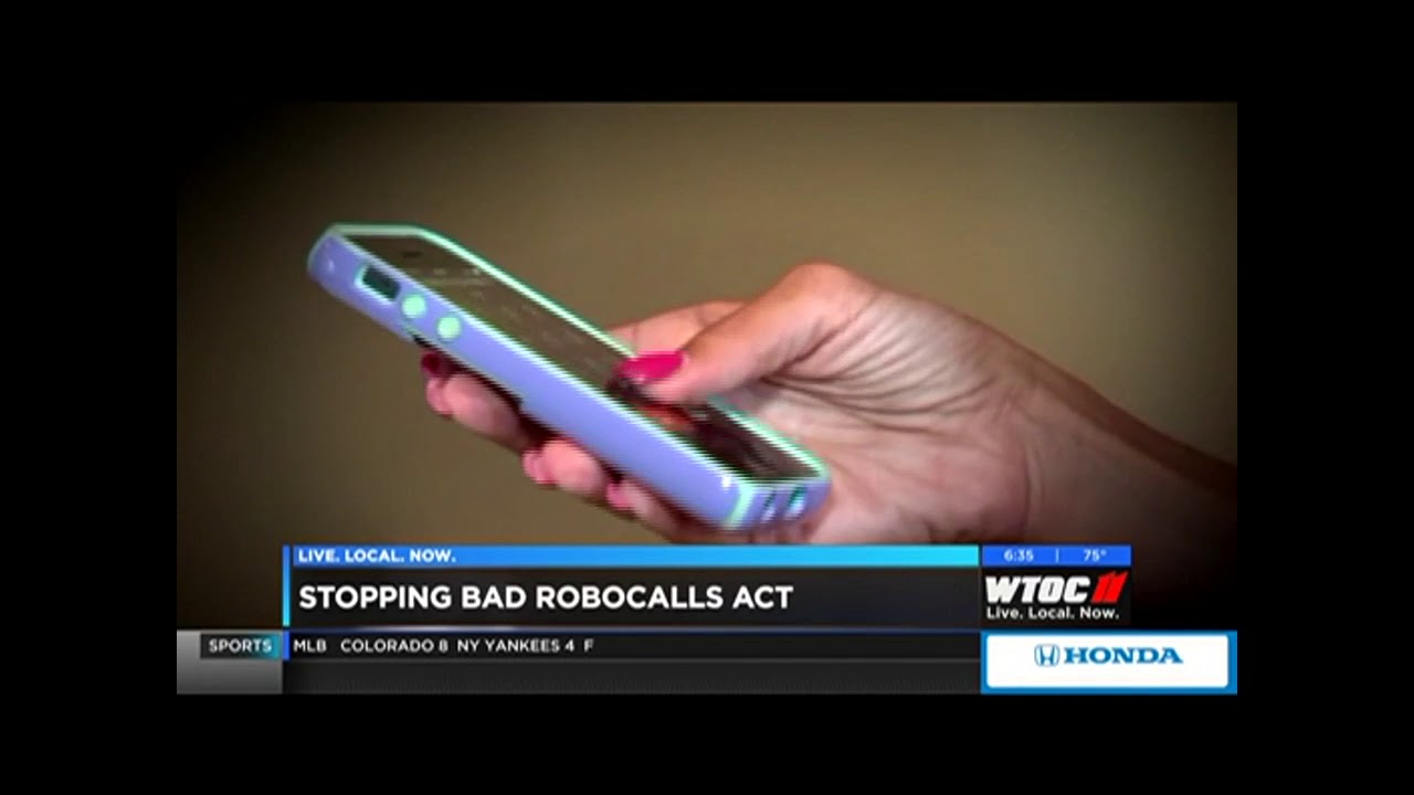 Rep  Carter and Colleagues Join to End Robocalls - WTOC