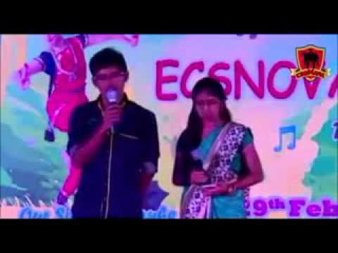 College Girl and Boy sing a song unmela oru kannu (Rajini Murugan)