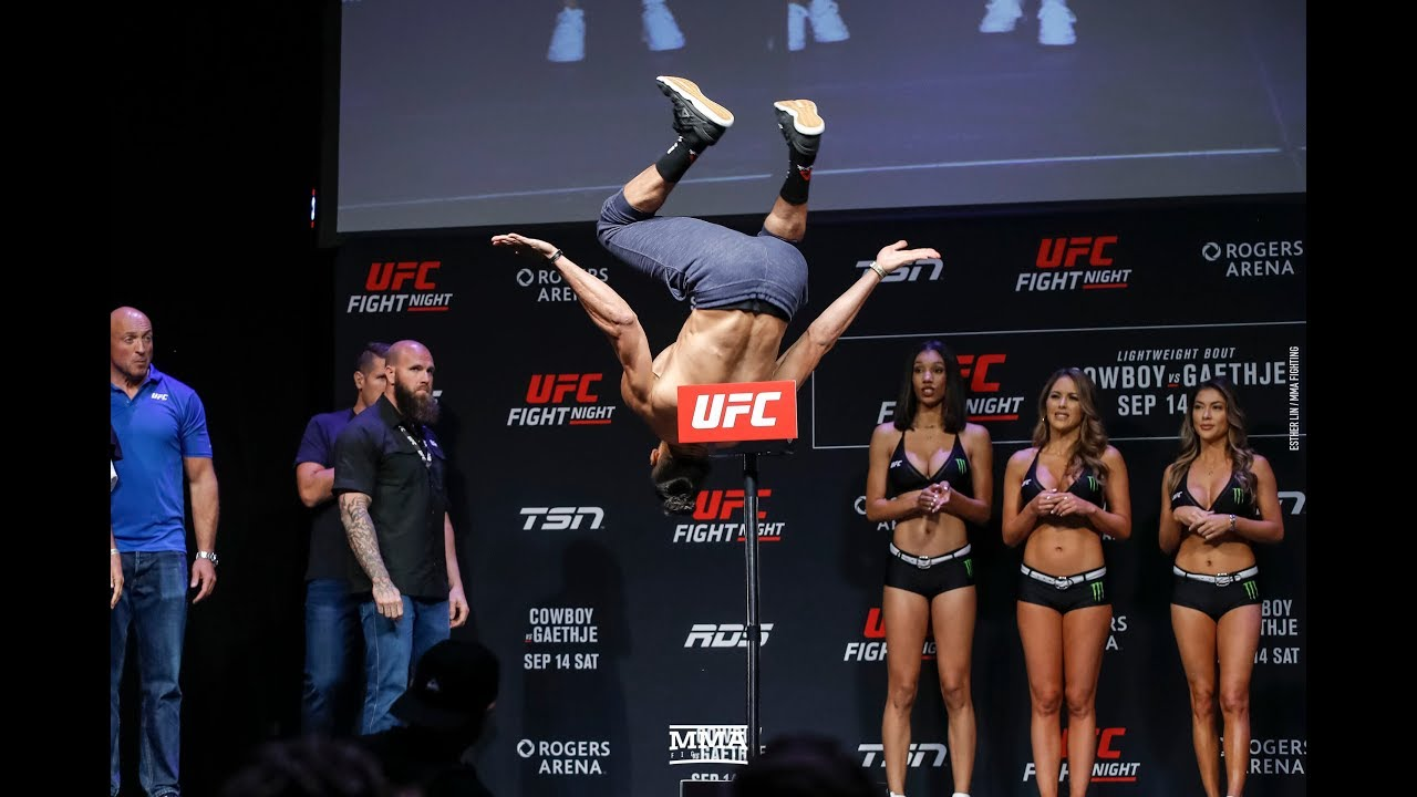UFC Fight Night results: Disqualifications, upsets and backflips