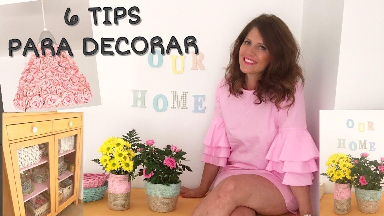 6 trucos f ciles para re decorar tu casa me ha quedado - Trucos para decorar tu casa ...