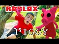 ROBLOX PIGGY In Real Life!  Piggy Trouble! | Steel Kids