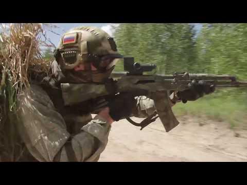 Тренировки разведчиков спецназа ЗВО в Тамбовской области