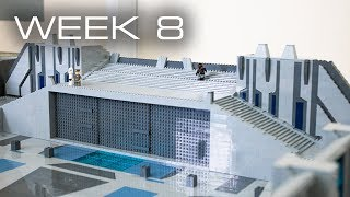 Building Mandalore in LEGO - Week 8: Staircase Completed