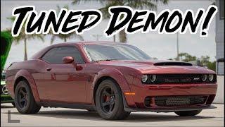 Tuned Dodge Demon vs 3000GT VR4  - Demon Exorcist!