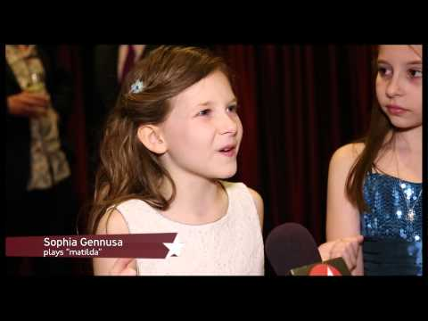 """""""Matilda""""'s Marvelous Stars Bask in the Delight of Opening Night"""