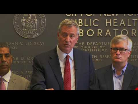Mayor de Blasio Updates New Yorker on Zika Efforts
