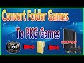 How To Convert PS3 Folder Games to PKG For All Han Exploited PS3 Console