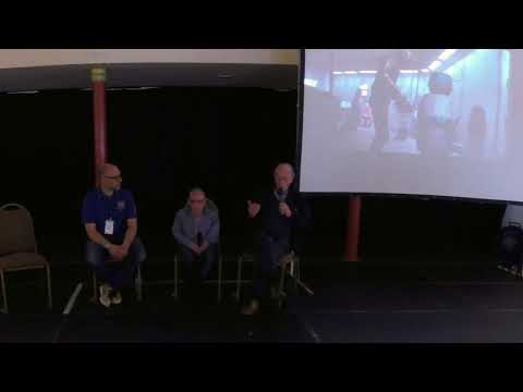 Lee Towersey, Jimmy Vee and Kenneth Colley At Scarborough Comic Con