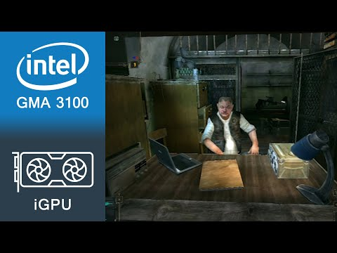 STALKER Shadow Of Chernobyl Gameplay Intel GMA 3100