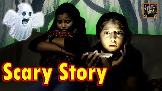 Scary Stories | Halloween Ghost Stories For Kids | Haunted House l Anu And Ayu Twin Sisters
