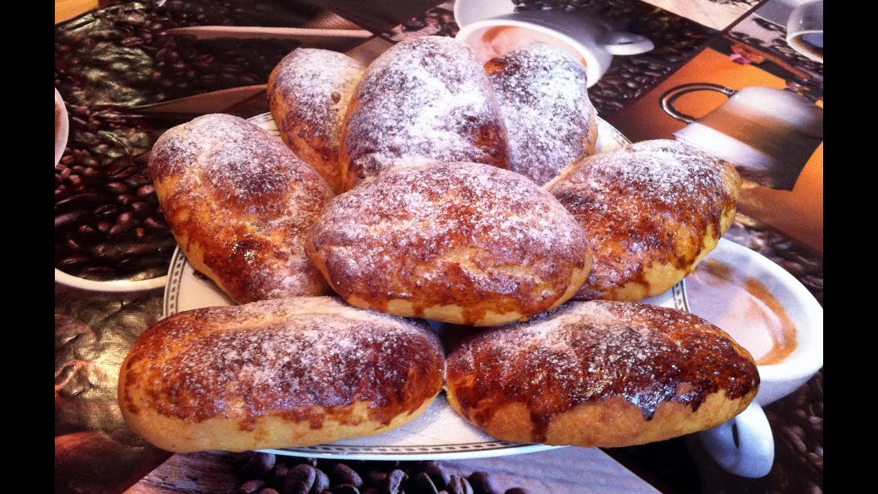Пирожки с повидлом простой рецепт в духовке рецепт с фото