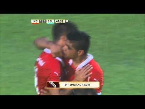 Sobre el final, Independiente se impuso por la mínima diferencia ante Belgrano