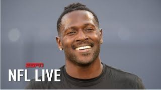 Antonio Brown will play for the Raiders in Week 1, Jon Gruden says | NFL Live