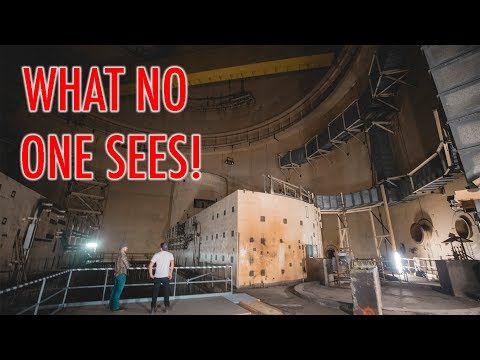 EXCLUSIVE LOOK INSIDE A NUCLEAR POWER PLANT!