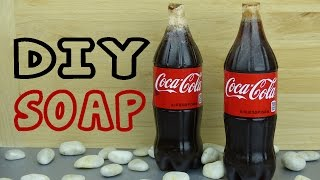 Diy Crafts: How To Make Soap From Soda Bottles | Easy Melt & Pour Soap Tutorial | Coke Bottle Crafts