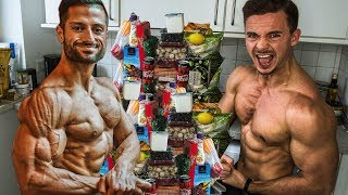 Ich esse 1 Tag lang wie BroSep | Wettkampfdiät