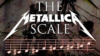 How To Write Meтal Riffs using the METALLICA SCALE - Composition / Guitar Lesson