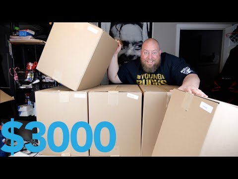 I BOUGHT 9 BOXES OF AMAZON CUSTOMER RETURNS VALUED AT OVER $3000