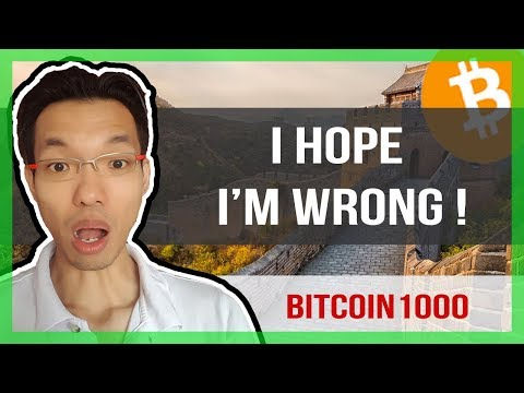 🌱I HOPE I M WRONG | WHY BITCOIN MAY GO TO 1000