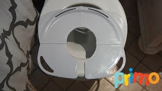 Folding Potty Seat with Handles from Primo