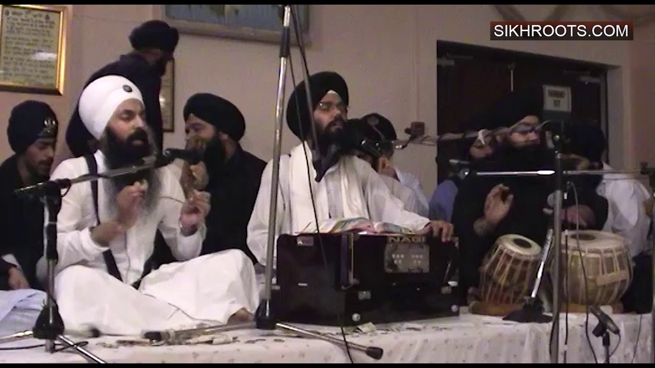 Bhai Manpreet Singh Kanpur - Kirtan from Shaheedi Smagam, Walsall (UK)