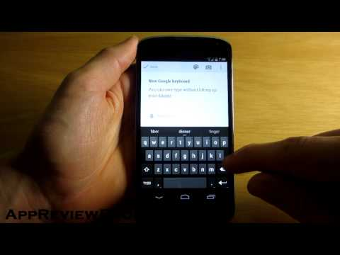 New Android 4.4 Google Keyboard APK Download