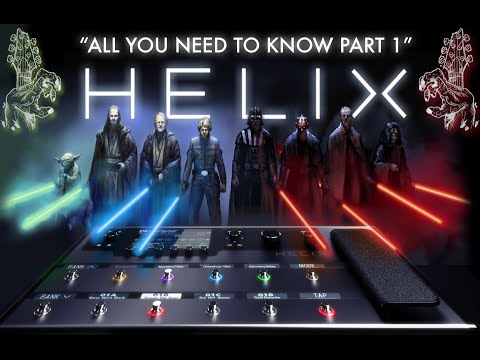 Line 6 Helix - All You Need To Know: Part 1 - Initial Setup & Overview