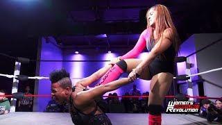 [Free Match] Sonya Strong vs. Vanity | Women's Wrestling Revolution (SHIMMER SHINE WSU WWR Stardom)