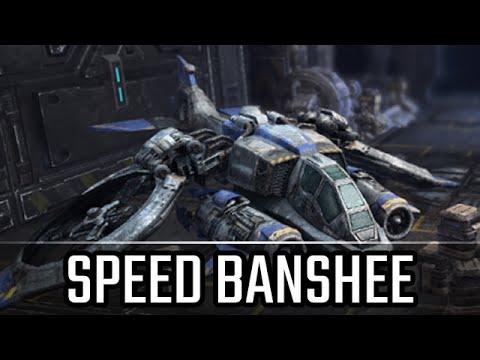 Speed Banshee & Tank Marine defense l StarCraft 2: Legacy of the Void Ladder l Crank