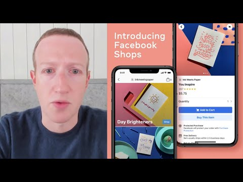 Introducing Facebook Shops : Mark Zuckerberg's Launch Speech from YouTube · Duration:  28 minutes 54 seconds