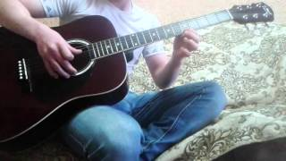 Легкая + Красивая Мелодия на гитаре (обучение)
