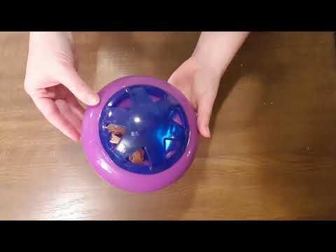 KONG Hopz gumowa zabawka na smakołyki dla psa