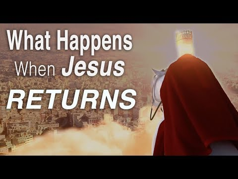 The SECOND COMING of JESUS | WHAT HAPPENS when HE RETURNS! (Millennial reign)