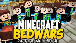 GOMME-SKIN RUNDE! - Minecraft BEDWARS #36 l GommeHD Bedwars