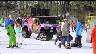 Bulgaria Skiing - Skiing in Bulgaria! Vlog 01