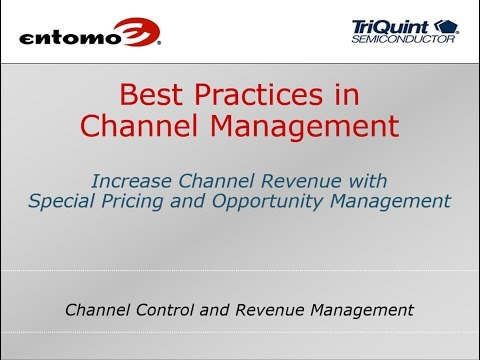 Channel Management Best Practices with TriQuint